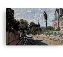 Claude Monet - Village Street (ca. 1869 - 1871) Canvas Print