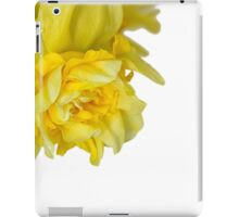 One daffodils macro iPad Case/Skin