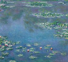 Claude Monet - Water Lilies (1906) by famousartworks