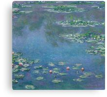 Claude Monet - Water Lilies (1906)  Impressionism Canvas Print