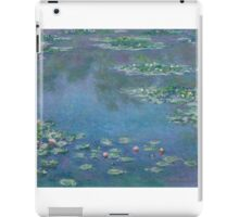 Claude Monet - Water Lilies (1906) iPad Case/Skin