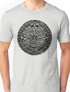 Mexican Mayan Calender the Aztec Sun Stone T-Shirt