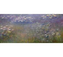 Claude Monet - Water Lilies (1915 - 1926)  Impressionism Photographic Print