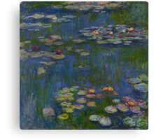 Claude Monet - Water Lilies (1916) Canvas Print