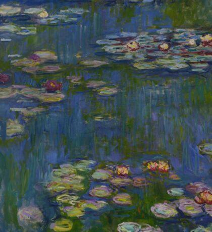 Claude Monet - Water Lilies (1916)  Impressionism Sticker