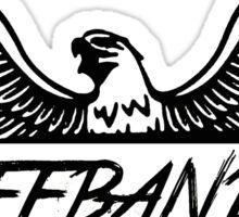 Freebandz Black Sticker