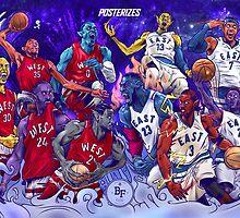 NBA All-Star MonStars 2.0!  by bballforever