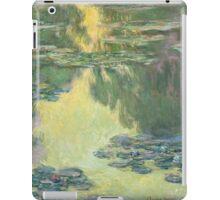 Claude Monet - Waterlilies (1907)  Impressionism iPad Case/Skin