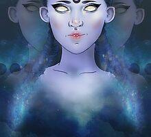 Blue Moon by Ellecho .