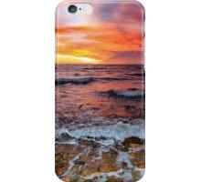 Moray Firth Sunrise at Brora iPhone Case/Skin