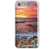 Moray Firth Sunrise at Brora iPhone Case/Skin