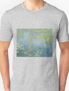 Claude Monet - Waterlilies. Impressionism Unisex T-Shirt