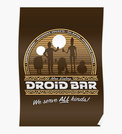 Droid Bar Poster
