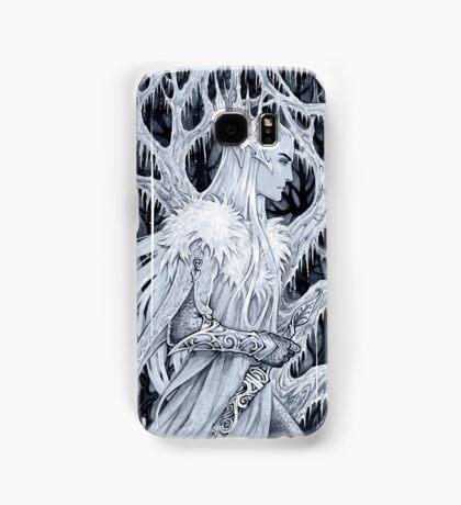 Winter in forest Samsung Galaxy Case/Skin