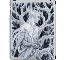Winter in forest iPad Case/Skin