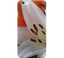 lily in the garden iPhone Case/Skin