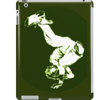Breakdancer in green iPad Case/Skin