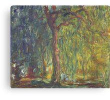 Claude Monet - Weeping Willow (1918–19) Canvas Print