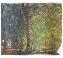 Claude Monet - Weeping Willow (1918–19) Poster