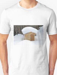 Snow on the roof Unisex T-Shirt