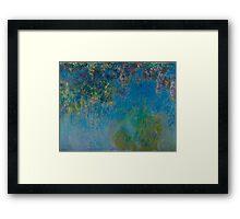 Claude Monet - Wisteria , Impressionism Framed Print
