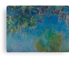 Claude Monet - Wisteria , Impressionism Canvas Print