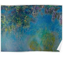 Claude Monet - Wisteria (circa 1925) Poster