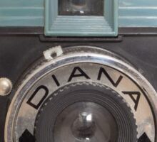 Diana Camera Sticker