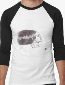 Bride of Frankenstein Men's Baseball ¾ T-Shirt