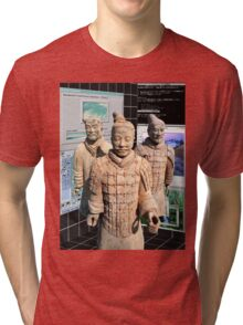 Chinese Vaporwave Aesthetics Tri-blend T-Shirt