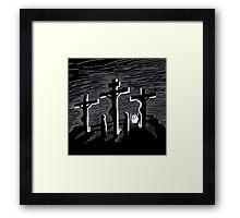 Kreuzigung - The Biggest Fight Framed Print