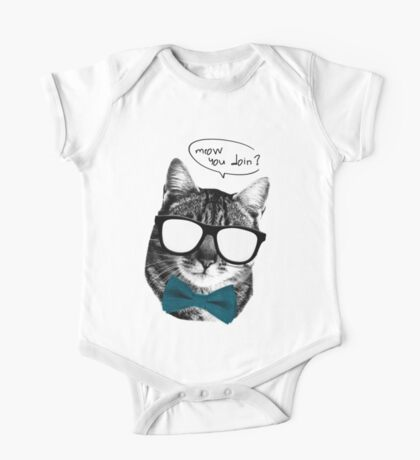 Meow you doin? One Piece - Short Sleeve