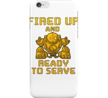 Blitzcrank Fired Up And Ready To Serve iPhone Case/Skin