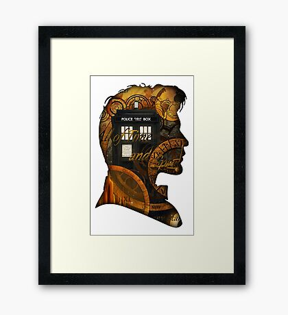 Doctor Who - TimeSpace & Smith Framed Print