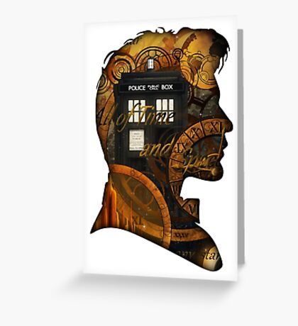 Doctor Who - TimeSpace & Smith Greeting Card