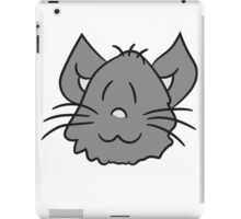 face head sweet cute kitten fluffy fur iPad Case/Skin