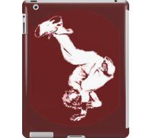 Breakdancer in red iPad Case/Skin