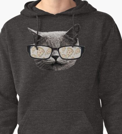 Pizza Cat Pullover Hoodie