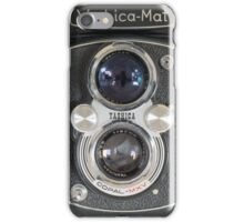 Yashica-Mat twin lens reflex iPhone Case/Skin