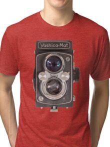 Yashica-Mat twin lens reflex Tri-blend T-Shirt