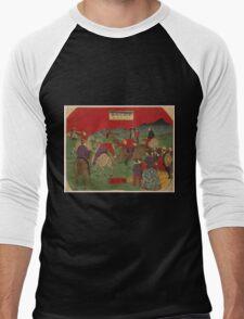 Hiroshige Utagawa - English Polo Game - 1877 - Woodcut T-Shirt