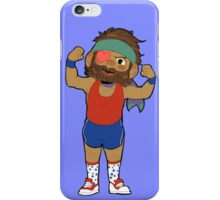 Work out Big Boss! iPhone Case/Skin