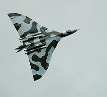Avro Vulcan bomber by David Fowler