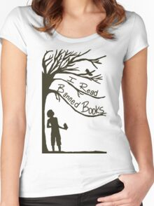 I Read Banned Books Women's Fitted Scoop T-Shirt