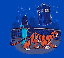 Aladin dr who tardis crossover by moltres