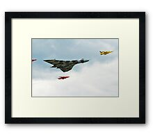 Vulcan and Gnats Framed Print