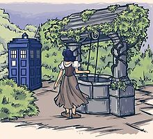 Disney dr. who crossover by moltres