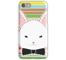Cute Rabbit Head iPhone Case/Skin