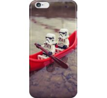 Chillin' on the water iPhone Case/Skin