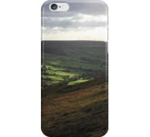 North York Moors National Park in sunlight iPhone Case/Skin